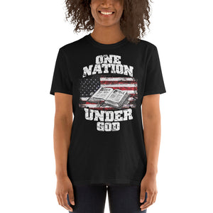 "Short-Sleeve Unisex T-Shirt ""One Nation Under God"""