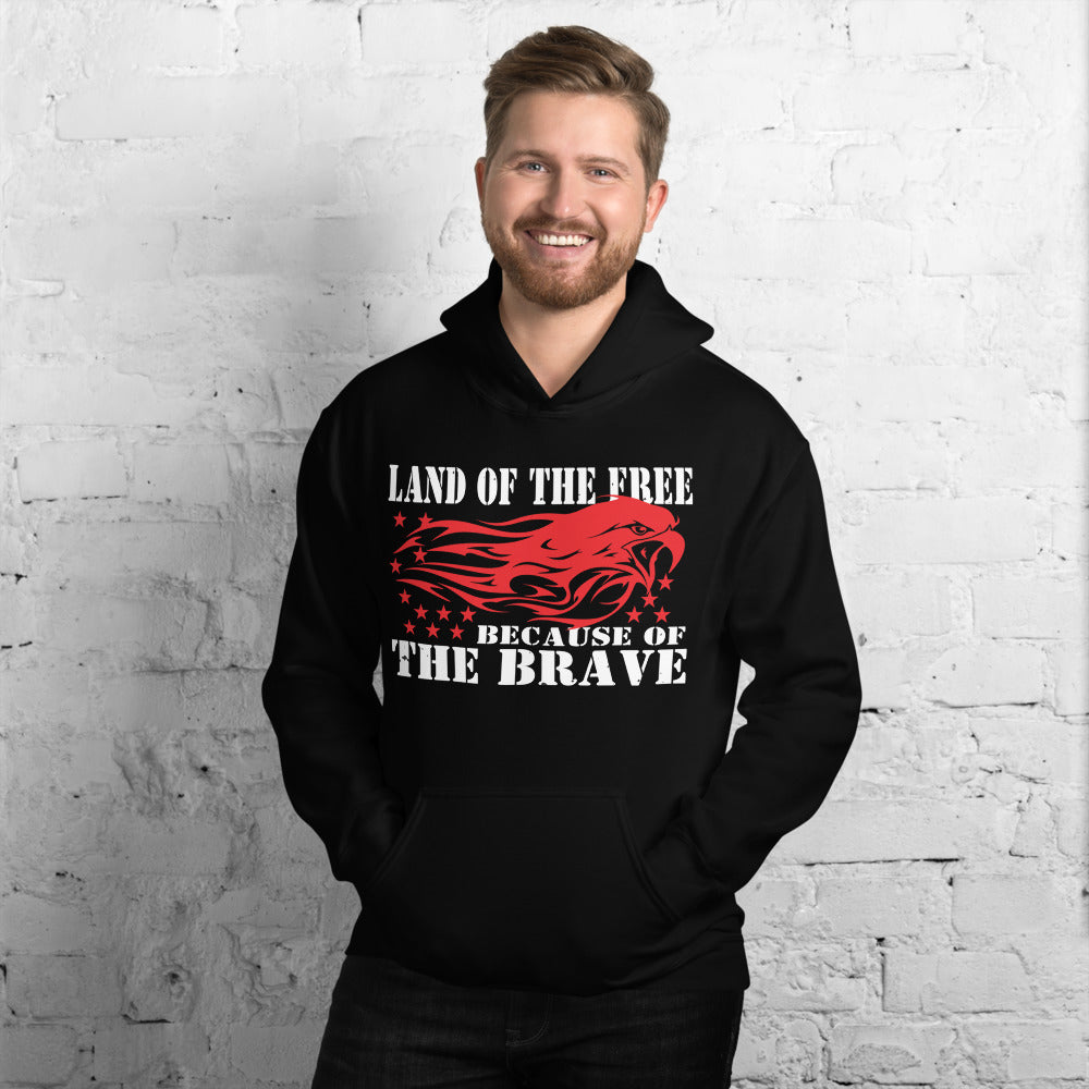 "Unisex Hoodie ""Land of the Free"""