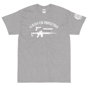 "Unisex ""Always Use Protection"" Premium T"
