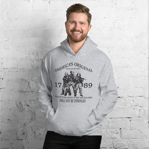 "Unisex Hoodie ""America's Original Homeland Security"""