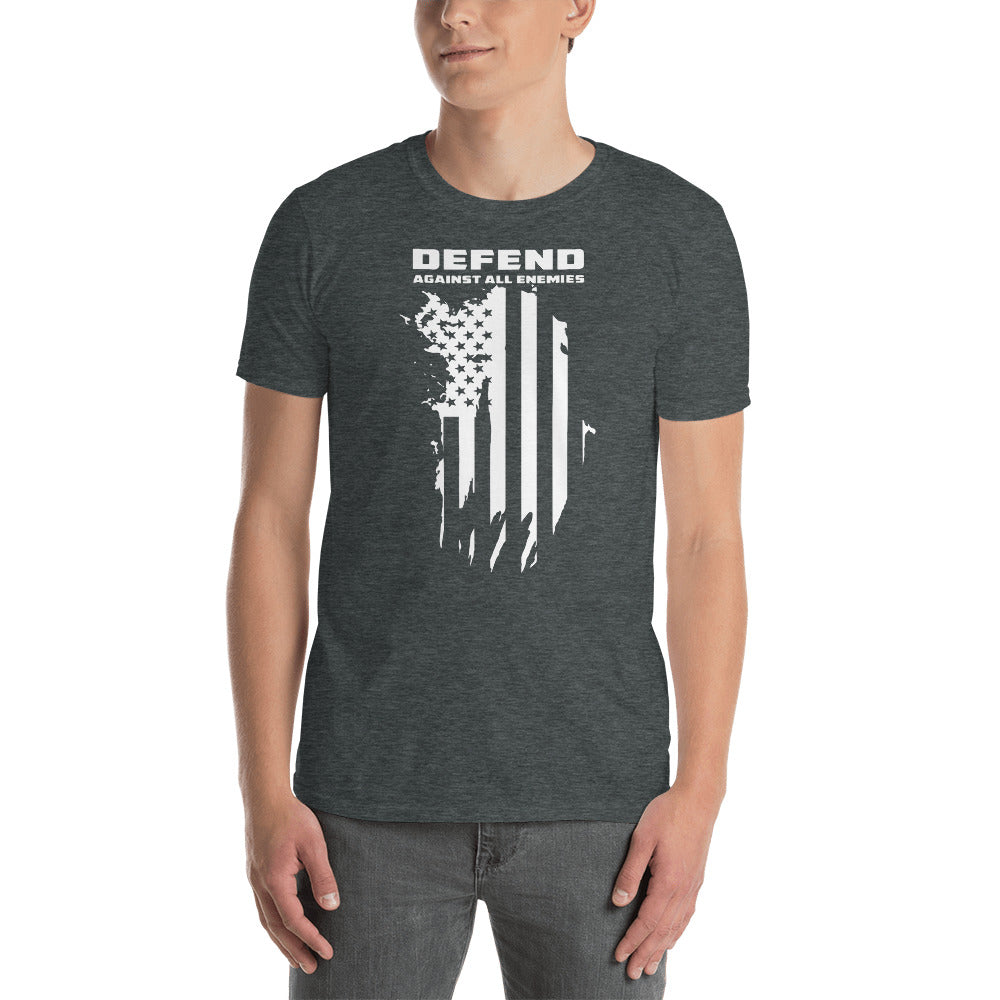"Men's ""Defend Against All Enemies"" T"