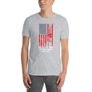 "Men's ""Colors Don't Run"" Gray T"