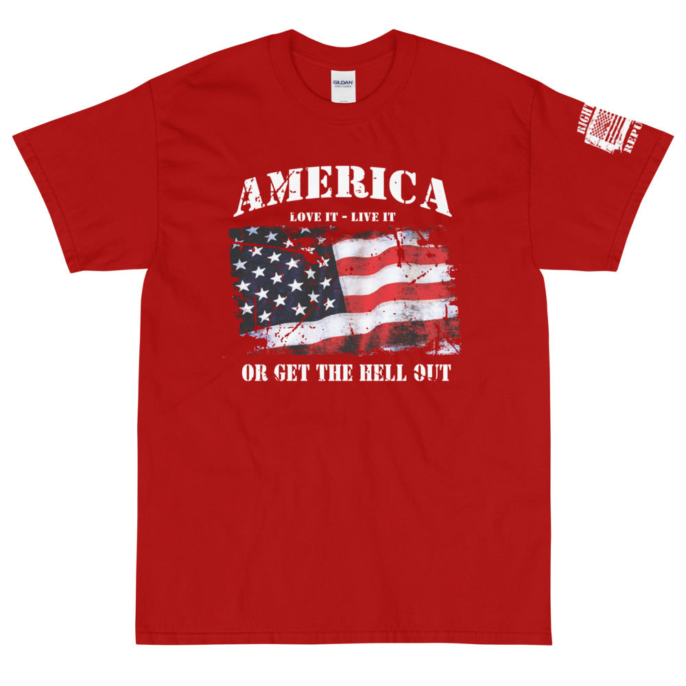 "Unisex ""Get The Hell Out"" Premium T"
