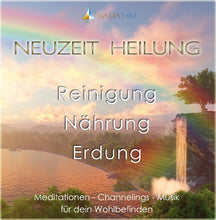 Lade das Bild in den Galerie-Viewer, CD1  NEUZEIT HEILUNG - Meditation - Channeling - Musik