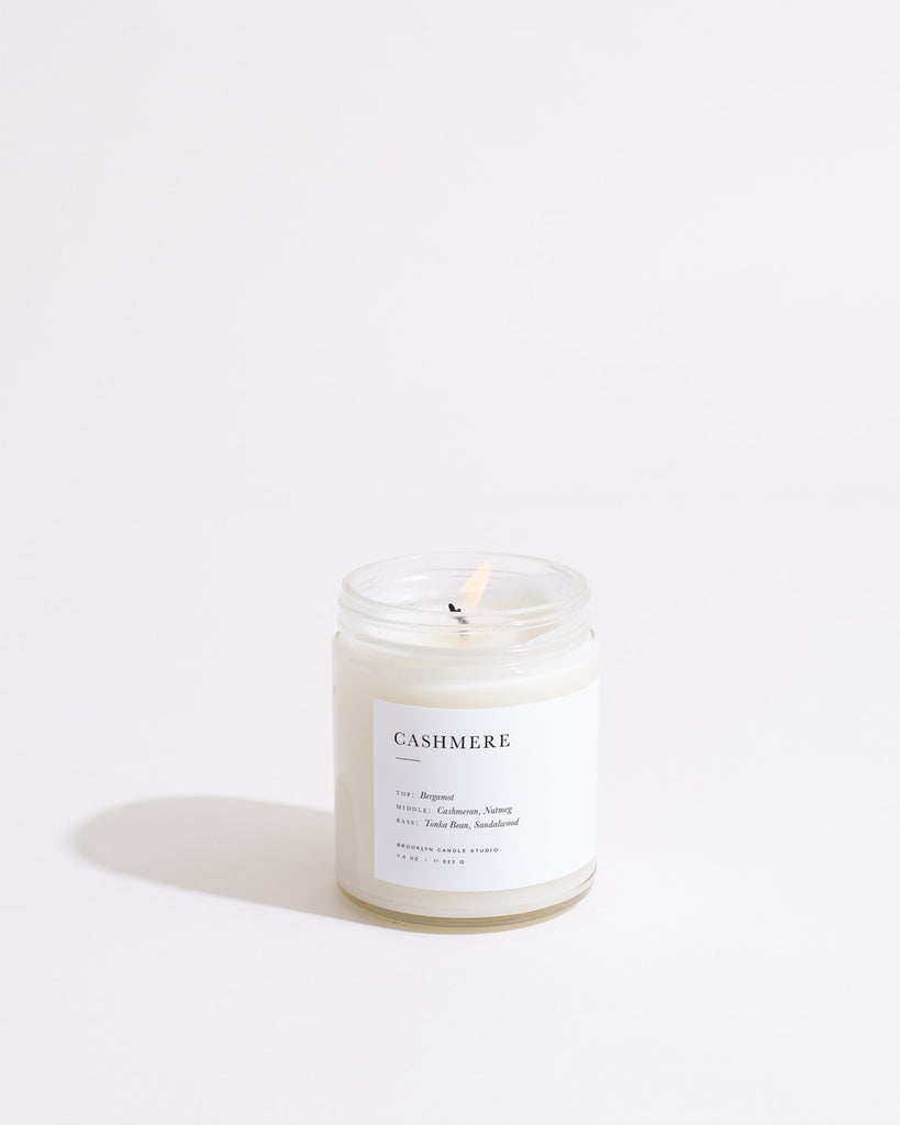 Limited Edition Cashmere Candle Minimalist Brooklyn Candle Studio
