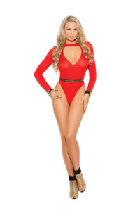 Red Hott Opaque Teddy