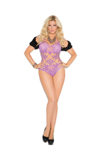 Vivace Lace Teddy With Cutout Detail