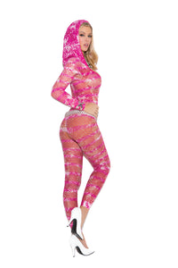 Vivace Tie Dye Footless Bodystocking
