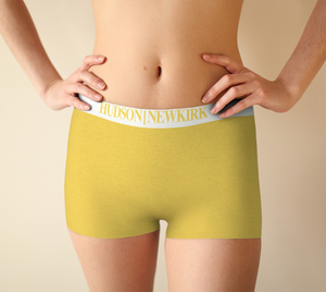 HNK Yellow Love Boy Shorts