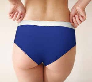 HNK Blue Cheeky Love Undie