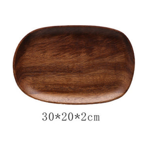 Wood Bowl Pan Plate