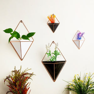 Geometric Hanging Flower Pots