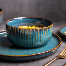 Load image into Gallery viewer, Nordic Style Kiln Glazed Ceramic Tableware