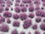 Self-Adhesive Static grass Tufts -4mm- -Plum Purple- - MiniGrounds