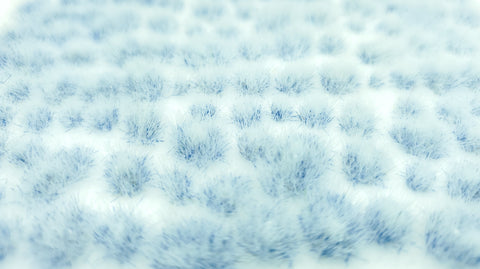 Self-Adhesive Static grass Tufts -4mm- -Icy Light Blue- - MiniGrounds