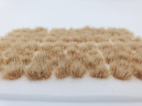 Self-Adhesive Static grass Tufts -4mm- -Desert Beige-