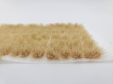 Self-Adhesive Static grass Tufts -6mm- -Desert Beige-