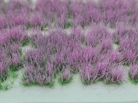 Adhesive Static grass Tufts -6mm- -Watermelon Pink-