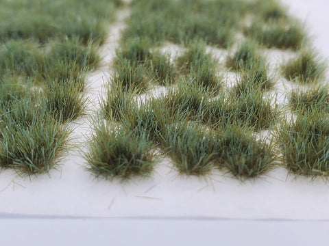 Self-Adhesive Static grass Tufts -4mm- -Forest Green-