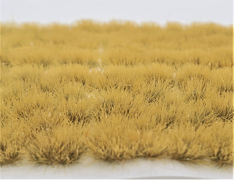 Self-Adhesive Static grass Tufts -4mm- Savanna Green