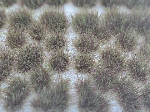 Self-Adhesive Static grass Tufts -4mm- Dry Steppe Grass