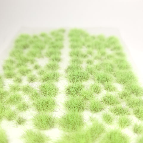 Adhesive Static grass Tufts -4mm- -Toxic Green-