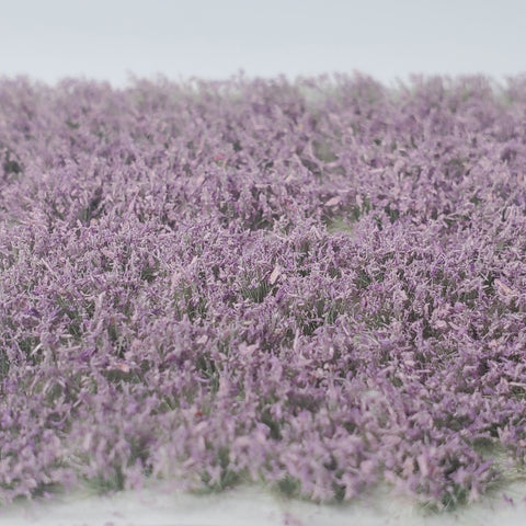 Adhesive Static grass Tufts -6mm- -Lavender Wildflowers-