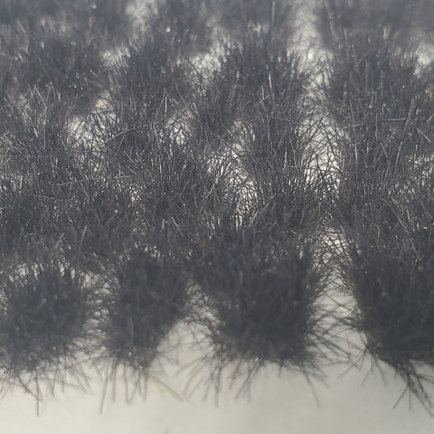 Adhesive Static grass Tufts -6mm- -Black-