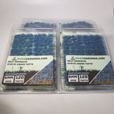 Adhesive Static grass Tufts, 6mm, Blue Wildflowers