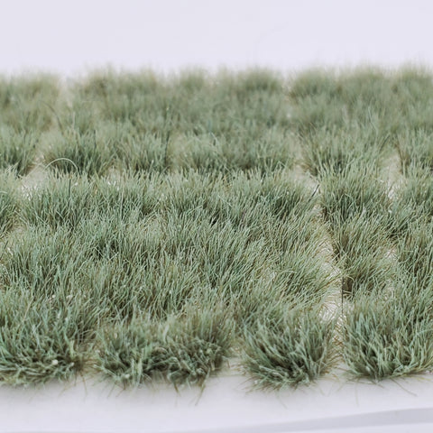 Adhesive Static grass Tufts -6mm- -Forest Green-