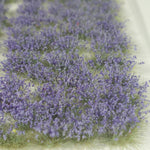 Self-Adhesive Static grass Tufts -4mm- -Lavender Wildflowers-