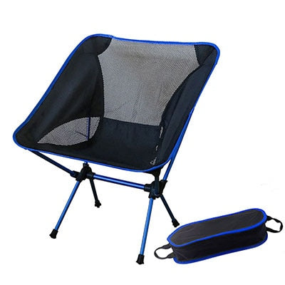 Portable Gray Moon Chair Fishing Camping Chairs