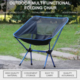 l High Load Outdoor Camping Fishing i Folding Chair