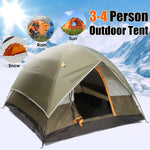 4 Person Double layer Tents