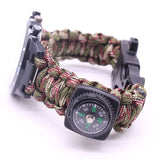 Survival Watch Outdoor Camping Medical Multi-functional Compass