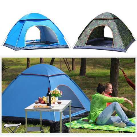 Automatic Pop Up Outdoor 2 Person Tent