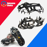 18 Teeth Climbing Crampons for outdoor  Snow Shoes