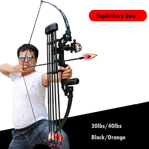 30/40lbs Straight Longbow for Right Handed