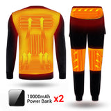 Fleece Lined Heating Thermal Underwear