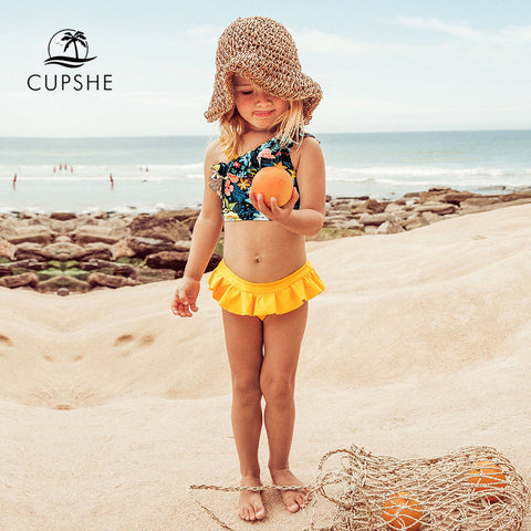 For Girls 2020 Toddler Kids Children Swimsuits Bathing Suits 2-12 Years