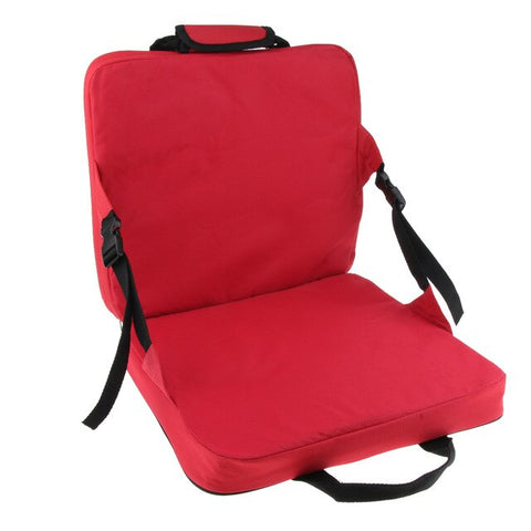 Reclining Stadium Seat Carry On Folding Bleacher Chair