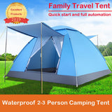 2019 Tents Outdoor Camping Tent 2-3 People Tourist 4 Seasons Family Travel Beach Camp Tent Easy Open Garden sun Tent Dropship 10