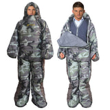 Human Shaped Winter Sleeping Bag