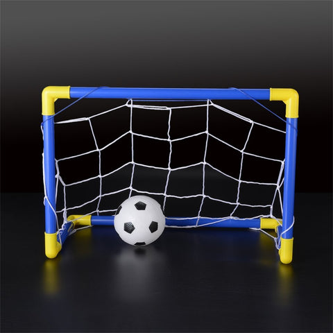 Folding Mini Football Soccer Goal Post Net