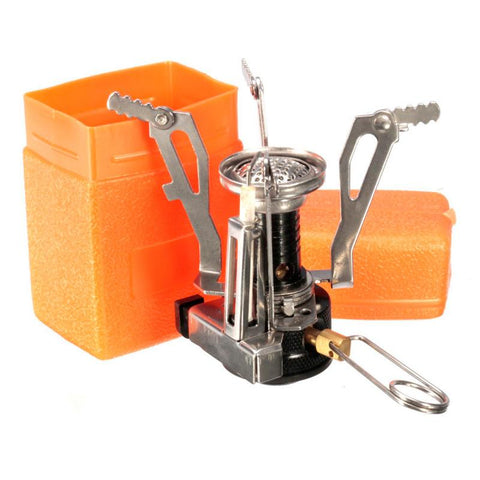 Mini  Outdoor Survival Cooking Furnace Alloy Stove 3000W