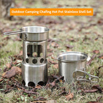 2pcs Outdoor Cooking Set