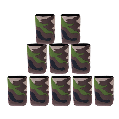 10 pcs. Ice Cold Drink Collapsible Insulated Soda Bottle