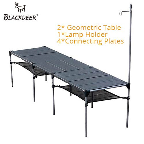 Aluminum Alloy Folding  Table Lightweight Rain-Proof Detachable