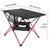 Portable  Aluminium Alloy Ultra Light Folding Desk