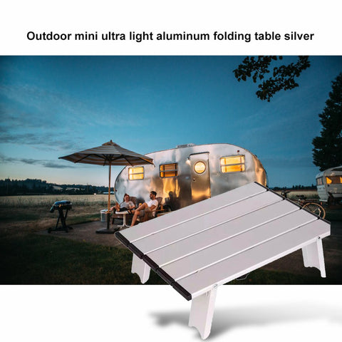 Mini Ultra Light Aluminum Folding Table